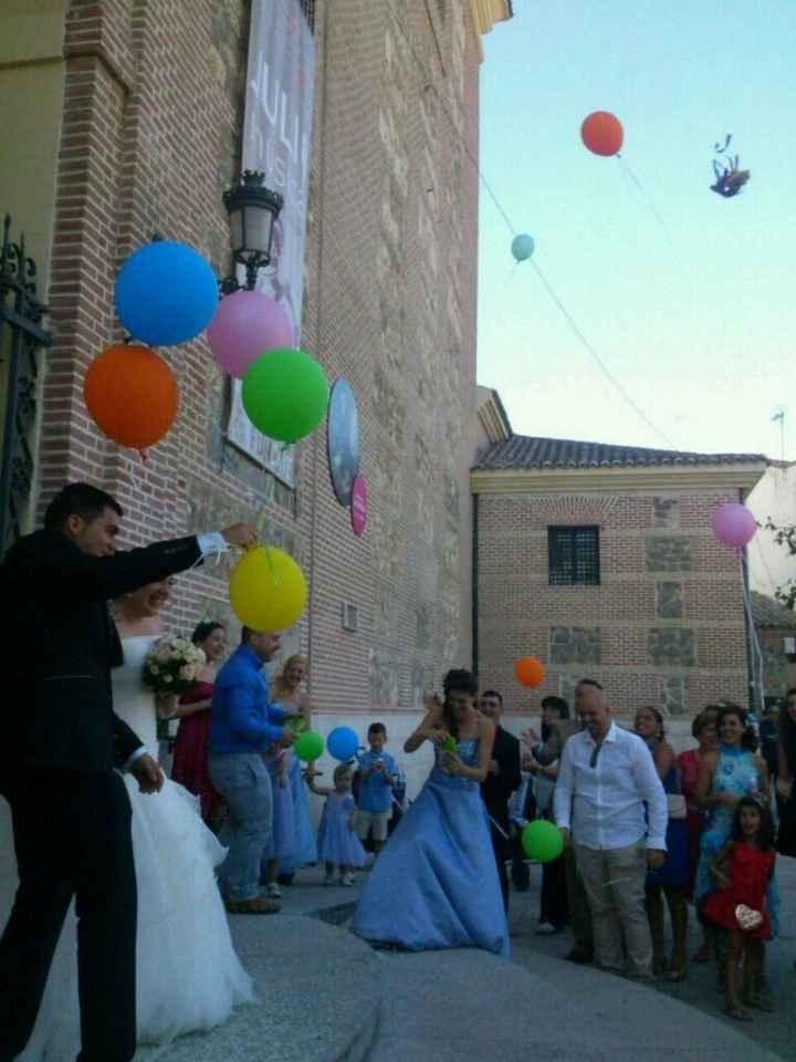Fotos de boda con globos - 1