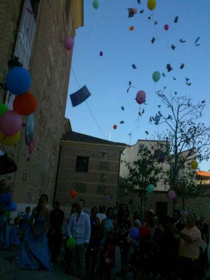 Fotos de boda con globos - 3