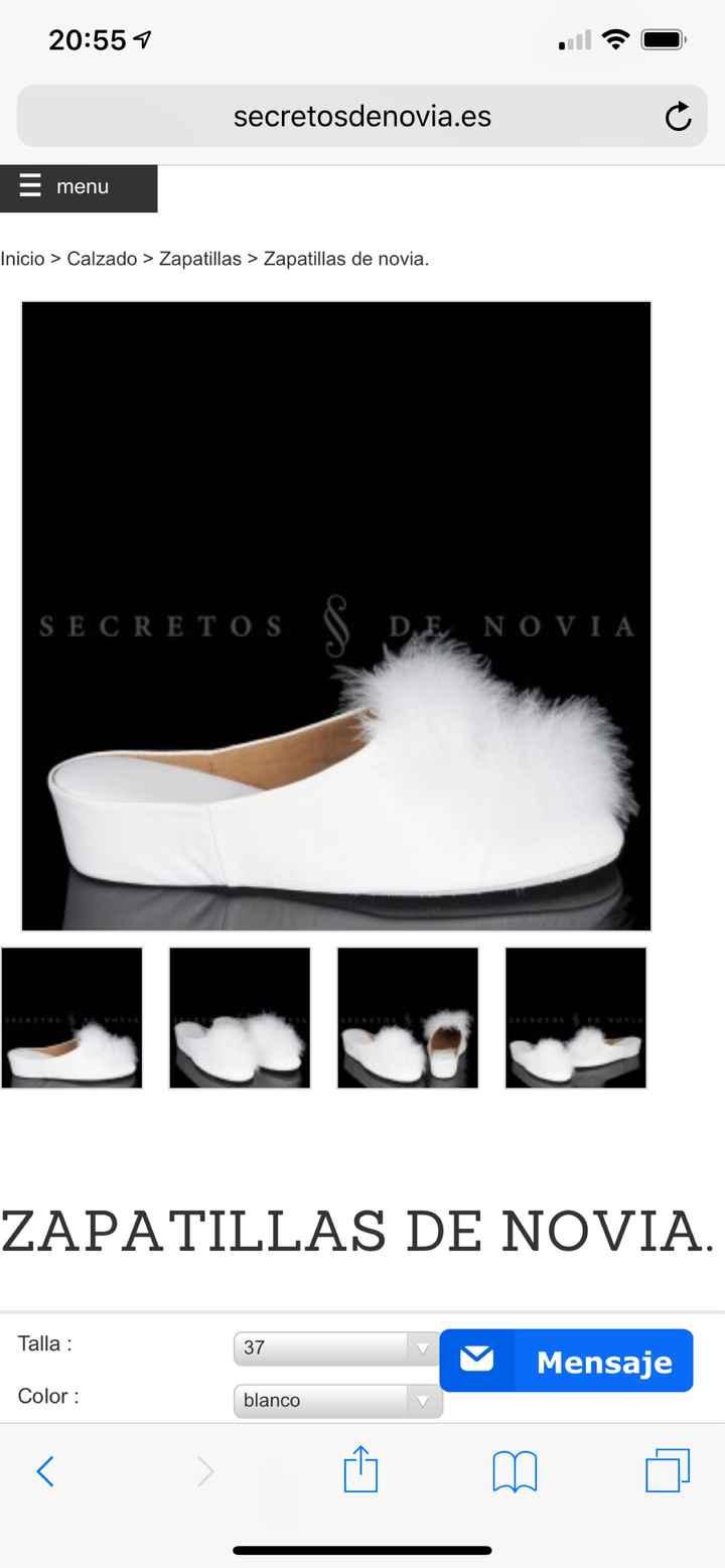 Zapato casa novia - 1