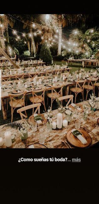 ¿Qué tipo de mesas os gustan más para el banquete? 4