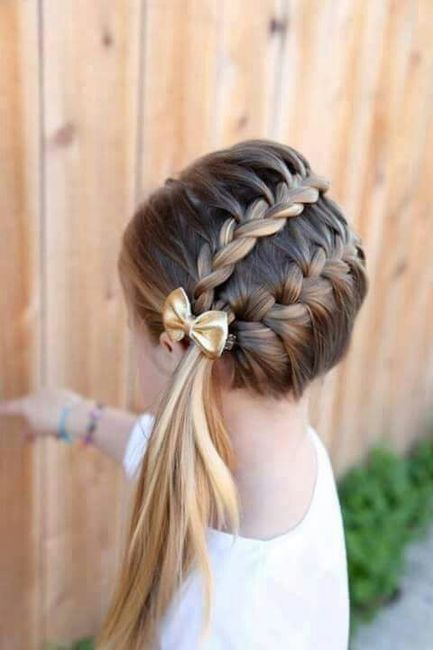 Fotos de peinados de boda para ninas