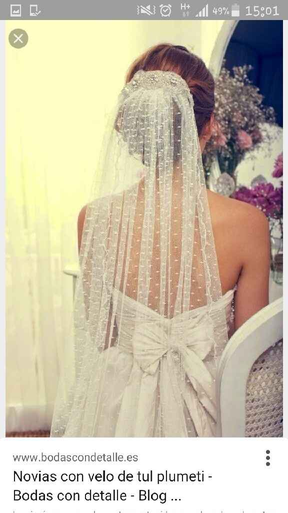 Busco tela para mi vestido - 1