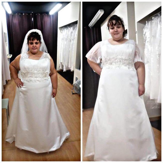 Segunda prueba de vestido + mucha pérdida de peso - 1
