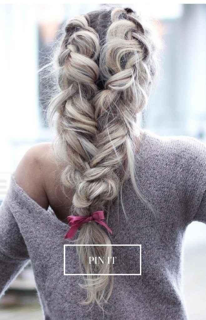 Peinados para el gran día ¿cuál os atrae más? - 4