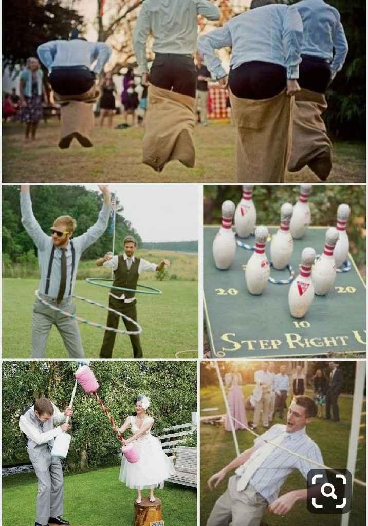 Vais a poner juegos en vuestra boda? - 1