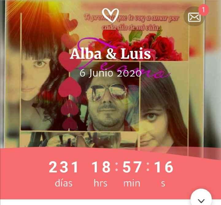 ¿Cuántos días quedan para tu boda? - 1