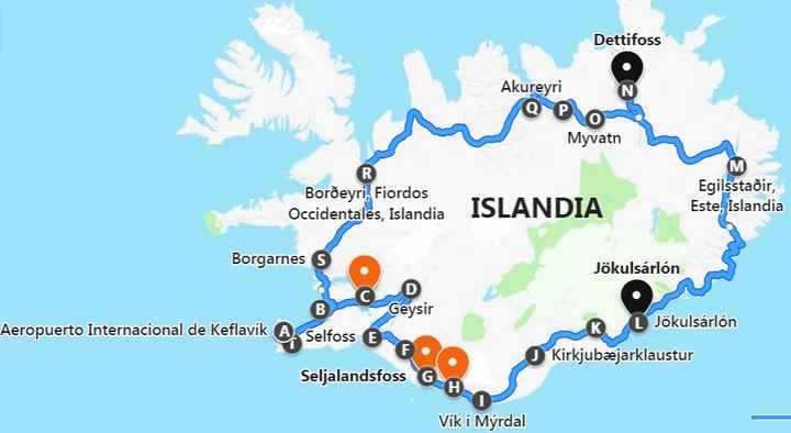 Nuestra ruta! :)