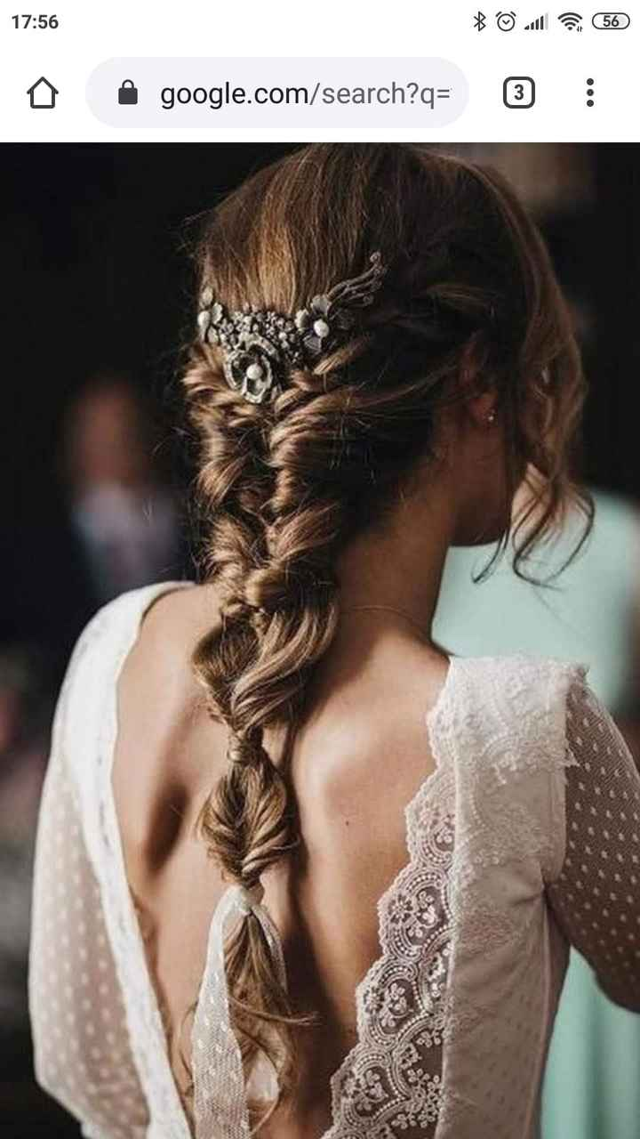 Que peinado con vestido sirena ? - 2