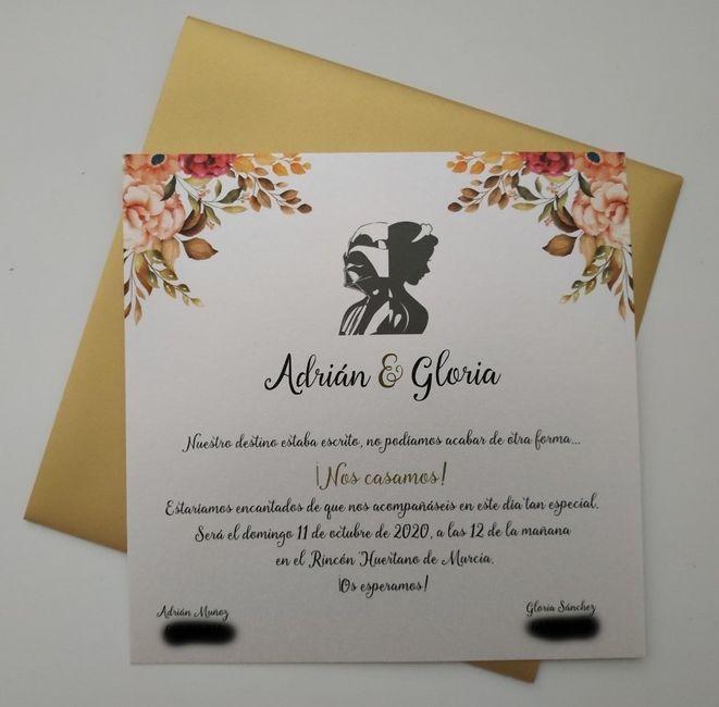Min invitaciones de boda - 1