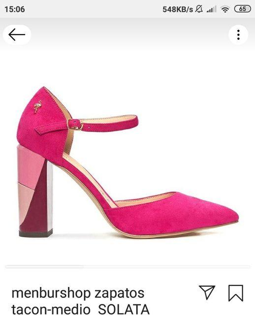 Zapatos novia Menbur 1