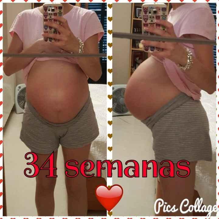 34 semanas