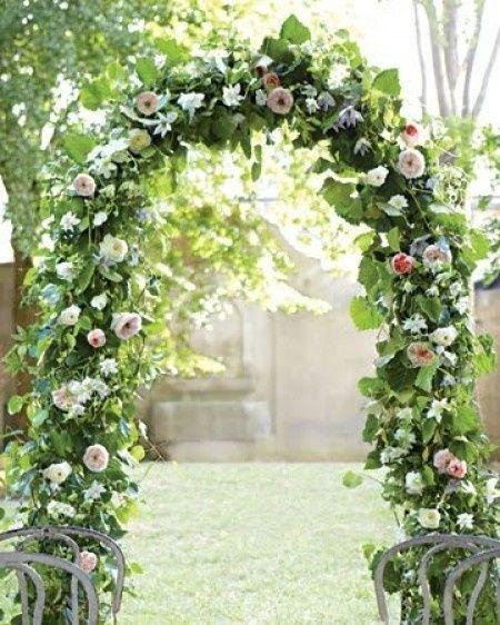 Wedding Arch Floral Decorations: Altar Ceremonia Civil: Arco De Flores O