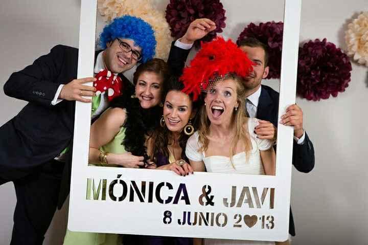 Photocall para bodas - 1