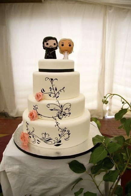 Nuestra tarta de boda