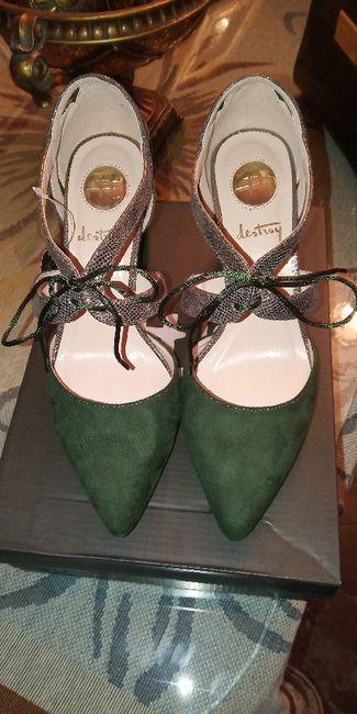 Mis zapatos verdes 😍 1