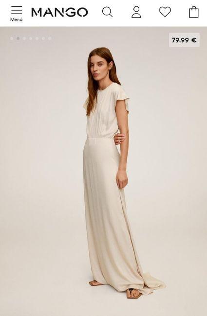 ¿Os casaríais con este vestido de Mango? 1