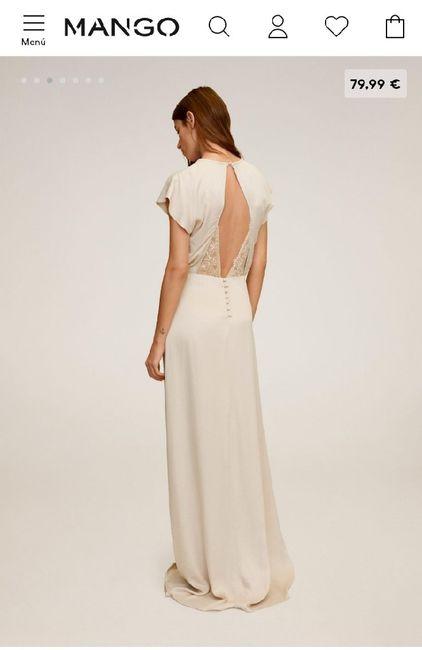 ¿Os casaríais con este vestido de Mango? 2