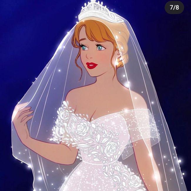 Princesas Disney de novias 4