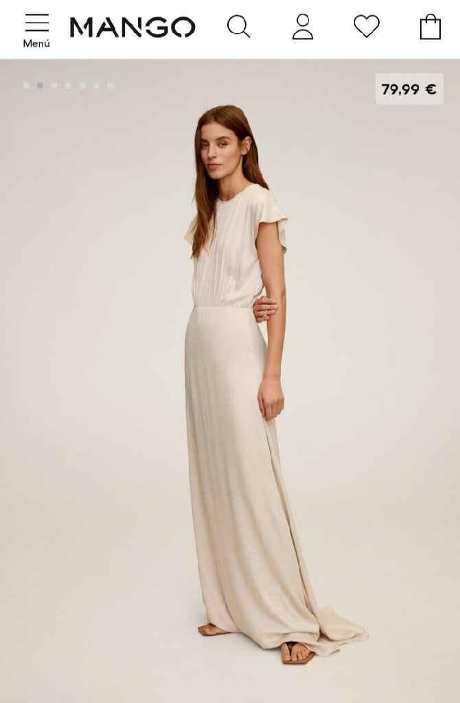 Os casariais con este vestido de Mango? - 1