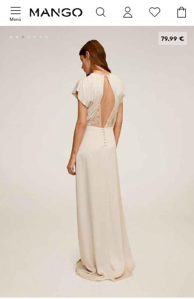 Os casariais con este vestido de Mango? - 2