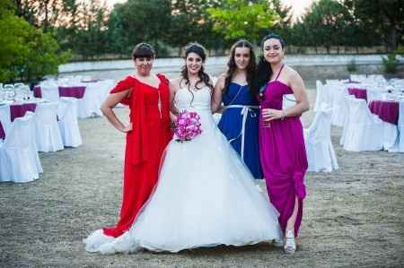 Con mis damas
