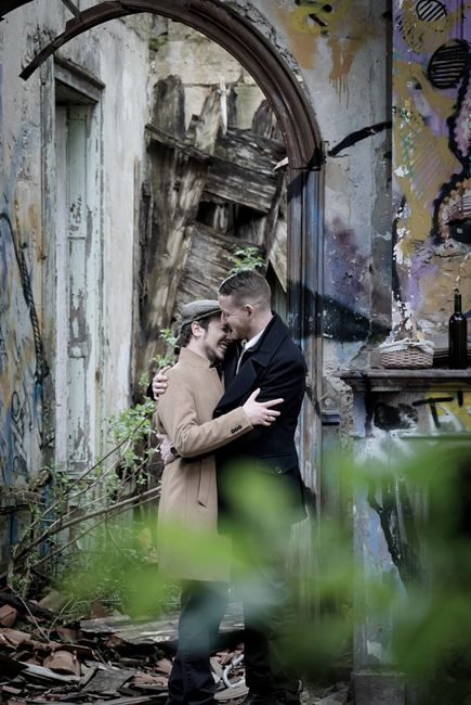Escogiendo rincones para fotos pre-boda 9