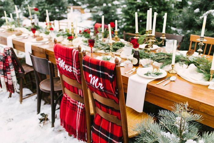 ¿Mezclarías la Navidad en tu boda? 🎄 2