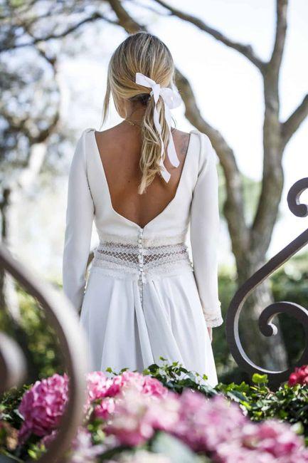 Recogidos de novia con lazo - I 2
