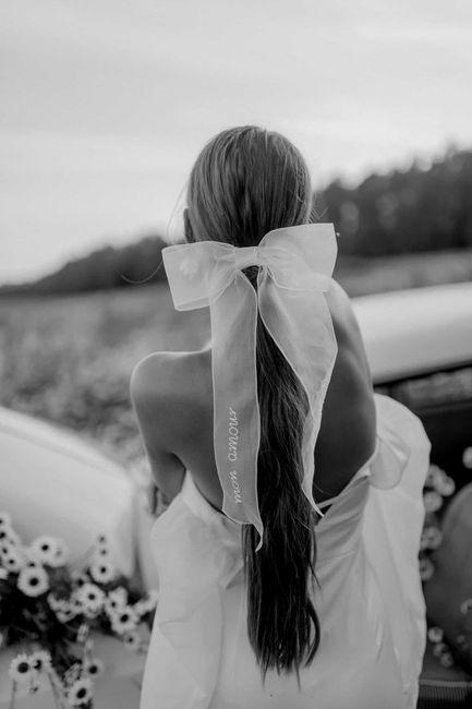 Recogidos de novia con lazo - I 3