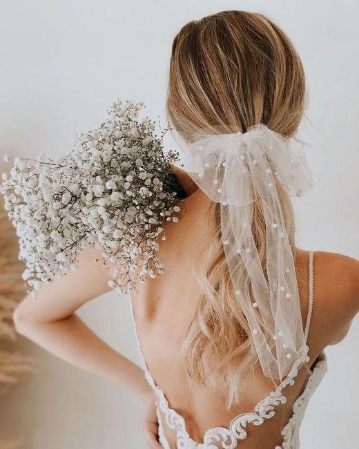 Recogidos de novia con lazo - I 4
