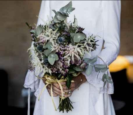 Materiales para atar tu ramo de novia 💐 - 3