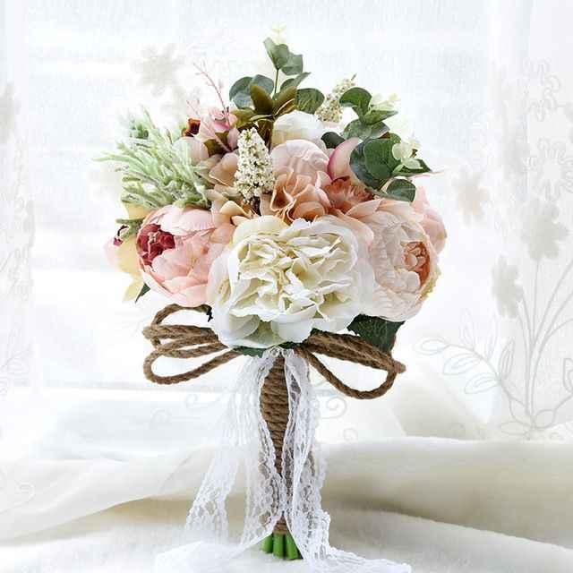 Materiales para atar tu ramo de novia 💐 - 7
