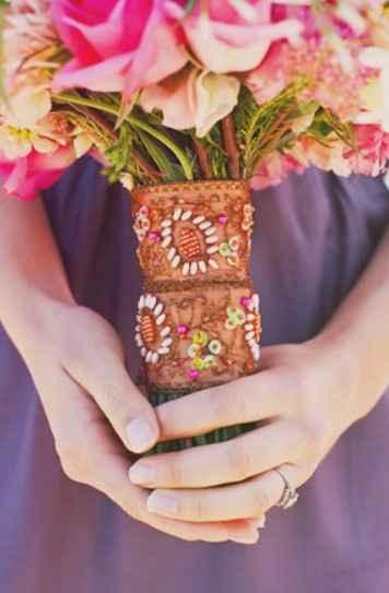 Materiales para atar tu ramo de novia 💐 - 10
