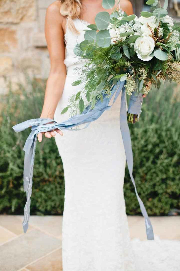 Materiales para atar tu ramo de novia 💐 - 11