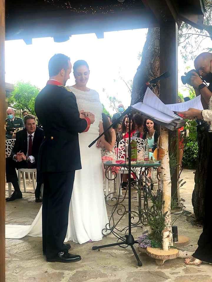 Felizmente casada en una boda preciosa - 3