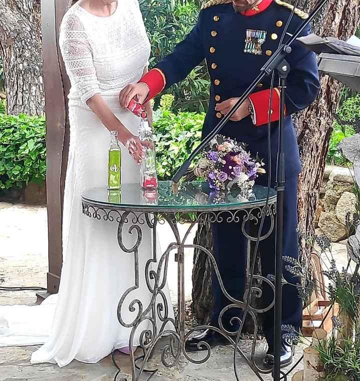Felizmente casada en una boda preciosa - 7