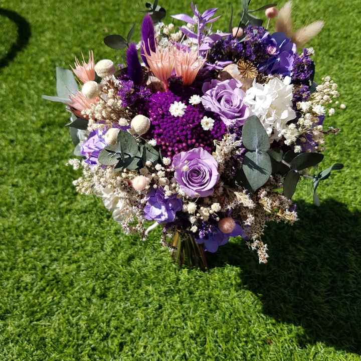 Ramo de flores preservadas - 1