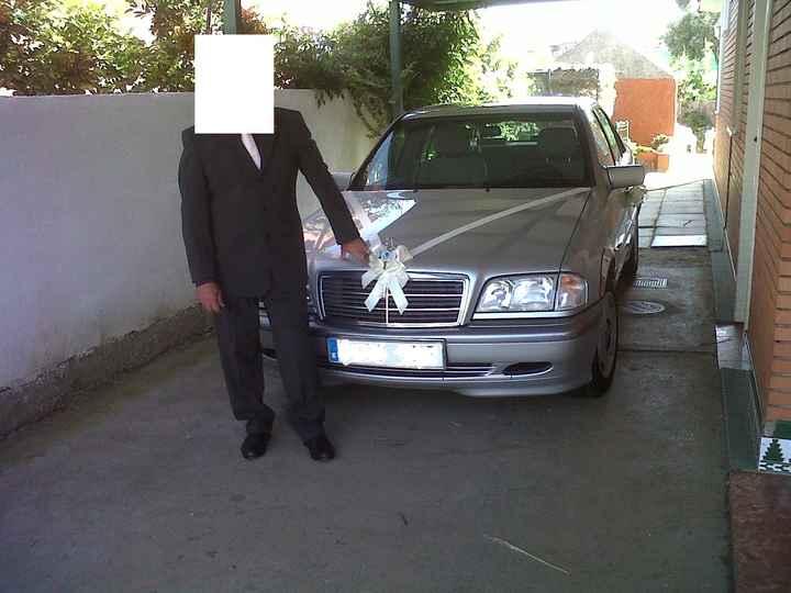 coche de la boda