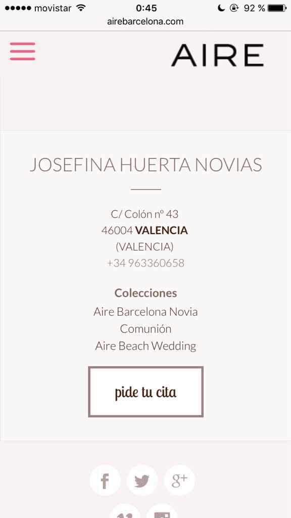 Busco un vestido aire barcelona 2017 - 1