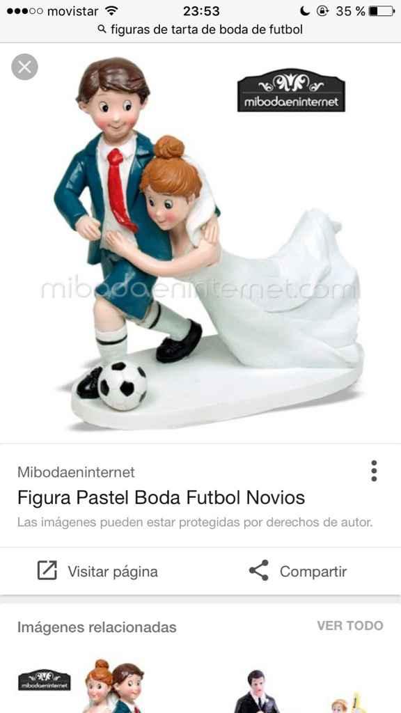 Boda temática fútbol - 2