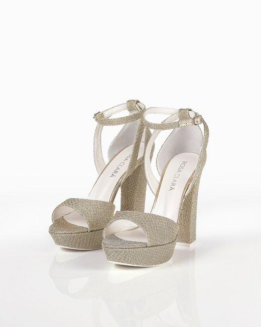 e164cf7e Zapatos de novia de Rosa Clará - Moda nupcial - Foro Bodas.net