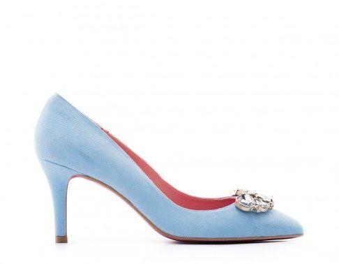 Blu Más Lolita Foro Moda Nupcial De Zapatos 8X0OPnwk
