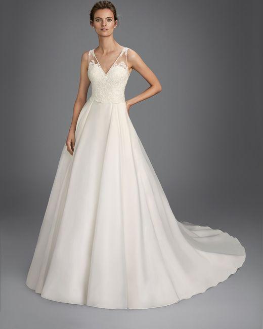 últimos vestidos de luna novias - moda nupcial - foro bodas