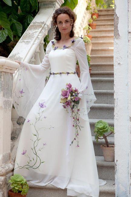 vestidos medievales de lluisa vila - moda nupcial - foro bodas