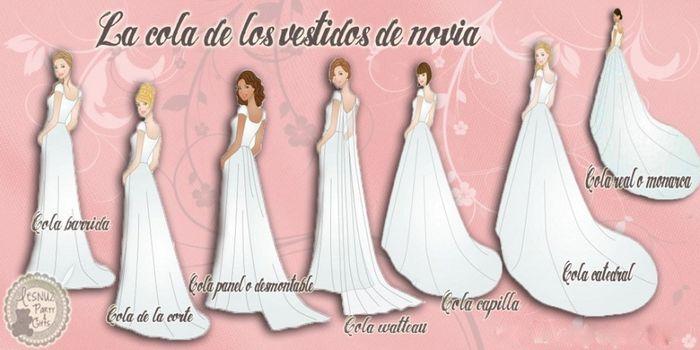 Vestidos de novia con cauda desmontable