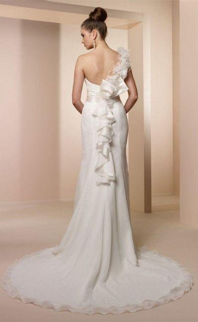 Tipos cola vestido novia