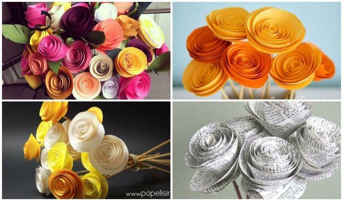 Flores De Papel Diy Manualidades Foro Bodas Net