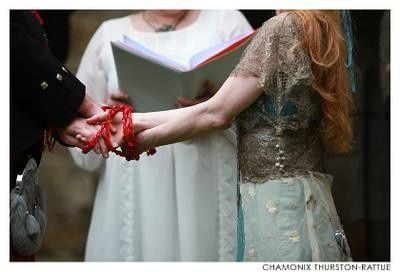 Ceremonia del nudo celta