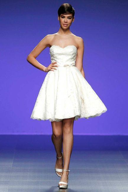 10 vestidos de novia cortos - Moda nupcial - Foro Bodas.net