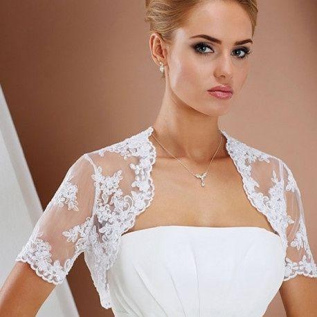 33ee04dbd5 41 boleros para novia de egovolo - Moda nupcial - Foro Bodas.net